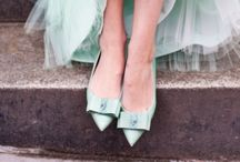 Happy Feet /  High heels, flats , wedges and more / by Emily Cole