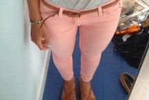 Colored Denim / by Tangerine Boutique