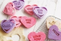 """My Funny Valentine / Celebrate love today and everyday with hearts, flowers, candy, crafts and a few of our favorite gift ideas that simply say, """"I love you!"""""""