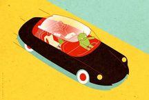 Car Illustration / Illustration