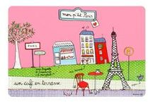 Designed by Filf / To cook, write and live ! #filf is a french illustrator we really love ! / by DesignfromParis