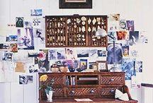 Craft Room Organization / Organizing the creative space