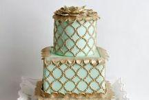 Modern,Vintage Cakes