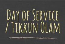 Day of Service / Tikkun Olam / Students and faculty participate in a variety of community service projects during the Day of Service to demonstrate our commitment to tikkun olam - a Jewish value that speaks to making the world a better place.