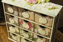 Scrapbook supplies & storage