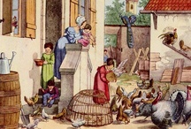"""Food History - Farm, Markets, Supplies / Historic images of raising, selling and obtaining the ingredients.  If pinned from my blog Researching Food History or website, click on the """"from"""" link for more information."""