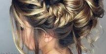 Haarcreaties / Verschillende manieren waarop je je haar kan dragen; los, vlechten en/of opsteken.