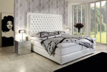 Upholstered Beds / Hand-made upholstered beds from Finkeldei are comfortable pieces of upholstery art.