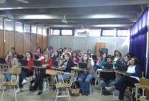 Talleres Conectar Igualdad / Fotos de los docentes que participaron en los talleres. Departamento Uruguay - Tala