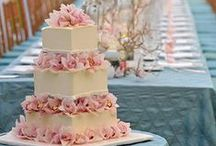 Sumptuous wedding cakes / Traditionally, wedding cakes were made to bring good luck to all guests and the couple.  Will yours be simple, or an elaborate creation?
