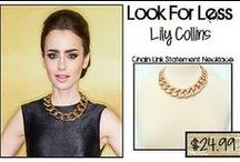 Look For Less / Find the celebrity look for less with The Charming Willow! / by The Charming Willow