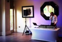 Our Wedding DJs / Dreamwave Events DJs doing what they do at Weddings. Wedding DJ