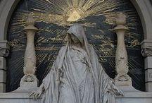 Symbolism + Religion / Religious inspiration, images, motifs, art, etc.
