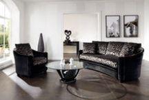 Upholstered Suites / Hand-made upholstered suites made by Finkeldei.