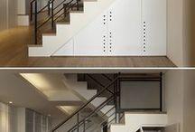 staircase - a case for interior design ideas / Treppen in Innenräumen, welche Möglichkeiten ergeben sich für Nutzung...