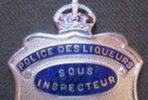 Quebec Provincial Law Enforcement Badges