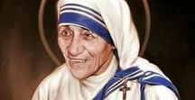 The Saints / Holy men and women who inspire us to live our faith more fully.