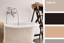Romantic and Retro Style / It's dedicated to daydreamers and details lovers...using Grazia collection by Nobili Rubinetterie.