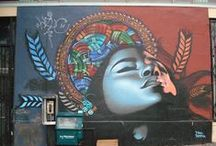 Street art / Street art from different artist in different cities. I hope I can this on someday.
