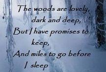 Robert Frost / Poetry by Robert Frost