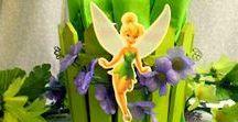 Вечеринка в стиле...  Peter Pan and Tinker Bell (Питер Пэн и Феи)