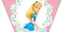 Вечеринка в стиле... Alice in Wonderland (Алиса в стране чудес)