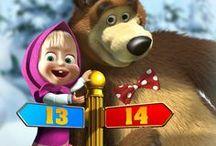 Вечеринка в стиле... Маша и медведь