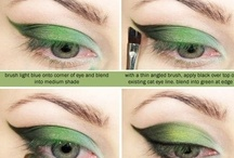 Green Eye Delights / Stunning Makeup ideas for green eyes #greeneyes #makeup