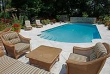 Beautiful Pools / Our pool decks are the jewelry of pool decks across Canada. From the East Coast to the Interior of the city of Toronto, we have beautified many backyards!