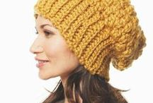 Crochet hats & neckwarmers for adults / Inspiration for hats for my sweetie