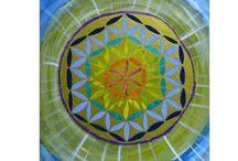Blume des Lebens / Mandalas / Blume des Lebens Mandala  Energiebild * handgemalt http://de.dawanda.com/shop/Salabrin/2401331-Blume-des-Lebens