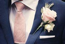 Le fiancé en costume