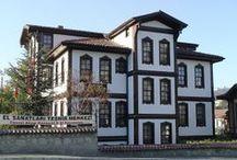 geleneksel türk evleri