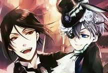 Kuroshitsuji❤️ / Black Butler, the best anime ever made❤️ Ciel x Sebastian (yes I ship them... Really much :3)