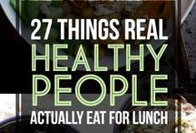 Healthy Recipes / Eating right is essential to your health. Try these recipes to maintain a healthy lifestyle!