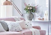Soft color decoration / Soft pastel colors