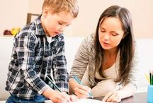 Homework Help / Homework, homework, homework! Don't let your kids get overwhelmed with homework, here are some tips and tricks to help relieve your child's stress.