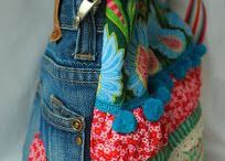 Upcycling Jeans / Upcycling Ideen aus alten Jeans DIY