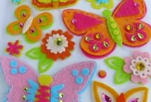 Butterfly embellishments / Paper butterflies: for cards,scrapbooking or altered projects.