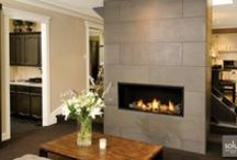 "Valor Fireplaces - L1 Linear Series / Showcasing leading edge design, quality finishes and high efficiency, the L1 Series combines Valor's proven performance with the latest in linear design. A highly effective radiant and convective heater, the L1 raises ""decorative widescreen"" fireplace standards. Low turndowns provide hours of comfort, efficiently distributing warmth where you want it - when you want it. / by Valor Fireplaces"