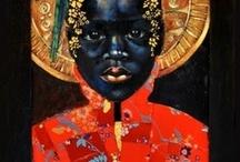 Art de la Femme Noir  / beautiful art of the divine black female