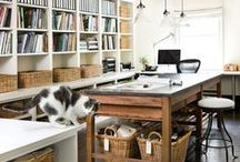 Workspace • Jewelry studios • creative spaces • Atelier / Creative artistic space & home office ideas and inspirations