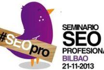 Primer Seminario #SEOpro Bilbao (nov 2013) / http://www.irudigital.com/valoracion-del-primer-seminario-seopro-bilbao/  Primer seminario sobre SEO en Bilbao: #SEOpro  de la mano de Marketing Online Valencia e Irudigital