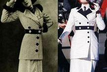 """Titanic moda 1912 / Oryginalne stroje z 1912 roku i kostiumy z filmu """"Titanic"""" (1997)"""