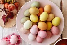 Spring & Easter / Recipes, eggs dye inspirations, Spring & Easter decorations ideas, tablescapes, etc