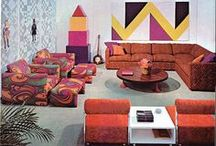 60s and 70s Interior Design / Vintage Interiors