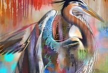 Blue Heron Ideas / by Mary Catterlin