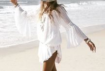 Boho. Hippie / Lucky to have a free spirit.