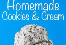 Ice Cream Desserts/Sherbets/Ices/Frozen Yogurt / Ice Cream