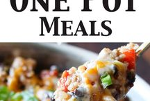 One Pot Dinners / Assorted Easy Meals